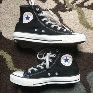 Converse All Star High Tops Chuck Taylor size 8
